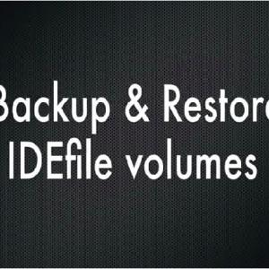IDEfile Backup Utility - MEMORY SYSTEM